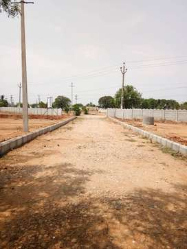 502 Sqft Best investment plan in low cost open Plot in Srisailam HWY