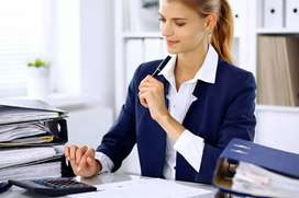 Female Office staff vacancy in share market firm