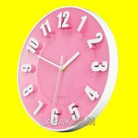 Jam Dinding Kikai KK-9628 Polos Minimalis Diameter 27 cm Best Seller -