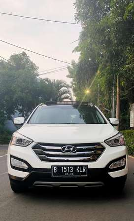 Hyundai Santa Fe Diesel Putih Mulus