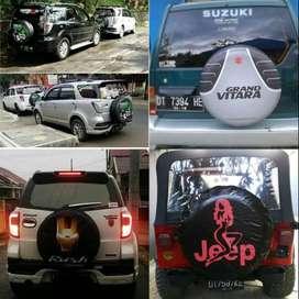 Cover/Sarung Ban Honda CRV/Rush/Terios/Phanter/Terano Antar unta geraf