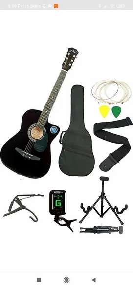 Jixing company guitar with all the accessories