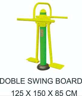 Double Swing Board Alat Fitness Outdoor Terbaik Garansi 1 Tahun
