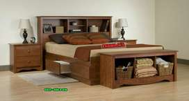 High quality bed with side table dressing ( khawaja's