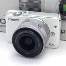 Cash / Kredit Kamera Canon Mirrorless EOS M10 Kit Proses Cepat