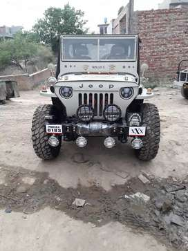 Mahindera willys jeep low price