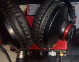 Scarlet Headphones for Recording