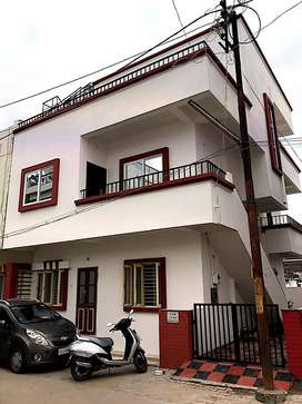 4bhk duplex  house first and second floor new vip main road