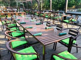 HOTELS OUTDOOR ALUMINUM TABLE