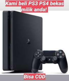 KAMI BELI PS3/PS4 BEKAS