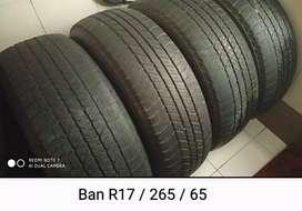 Ban R17 / 265 / 65 Pajero Fortuner