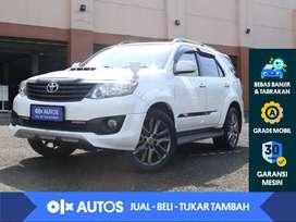 [OLXAutos] Toyota Fortuner VNT 2.5 G TRD Diesel Solar A/T 2013 Putih