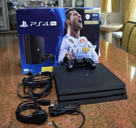 PS4 Pro 1TB  Perfect Condition
