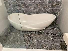 Bath Tub Marmer Terrazzo Kutawaluya