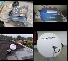 Pasang parabola Transvision HD resmi Lombok Timur setahun cuma Rp750k