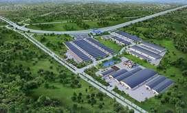 tanah industri untuk pabrik atau gudang dekat toll porong gempol
