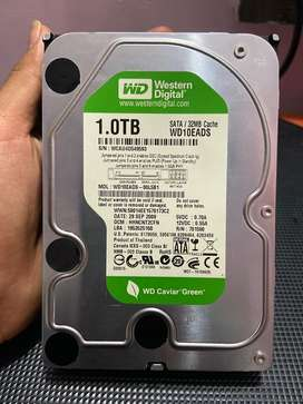 Western Digital 1 TB Hard Drive For Desktop