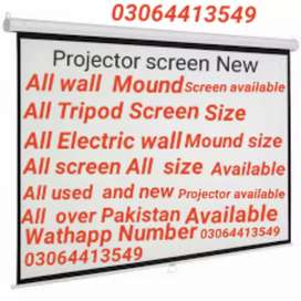 All  different Size projector screen available
