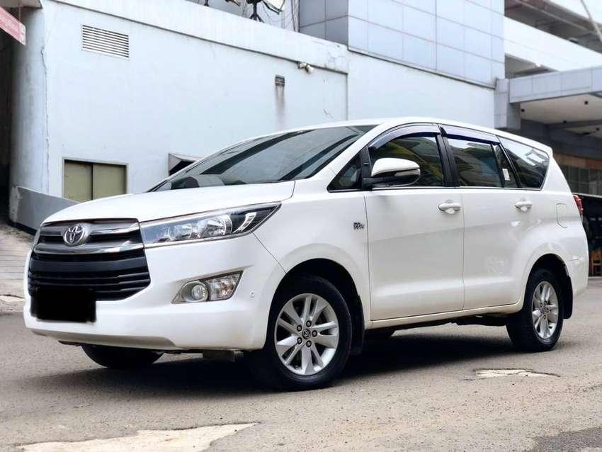 Toyota Innova Reborn 2.0 V AT 2017 Bensin Putih Kondisi OKE 0