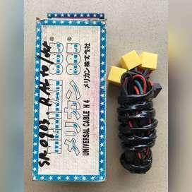 Kabel Set Relay Lampu Socket Bohlam Halogen H4