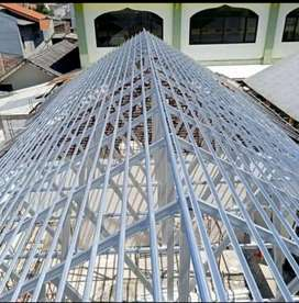 Pasang atap baja ringan Pasang canopy baja & tukang atap bocor