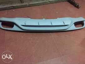 AUDI A4 rear diffuser kit with 4 exhaust tips