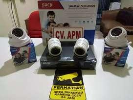 cctv spc murah PAKET 4KAMERA,4CH,LENSA 2MP 1080P DI JAKARTA SELATAN.