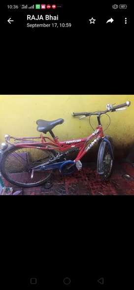 My cycle in good condition well mentened