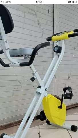Olahraga murah Sepeda Exbike sandaran baru promo