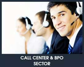 Requirement for Tele call hindi and English