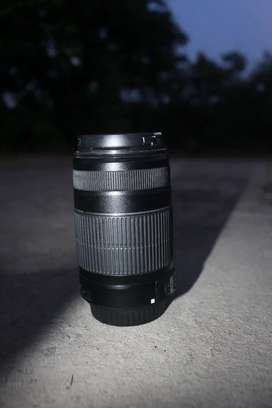 Very good condition with dual lens 18-55 and 55-250