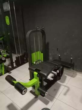 Gym equipments available
