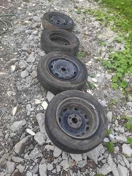 vollkswagen polo 14 '' wheel rim discs