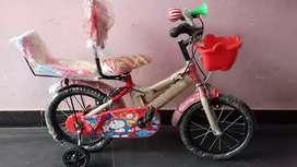 2.5 - 4  साल के बच्चों की नई साइकिल बेचना है , कीमत सिर्फ 1300