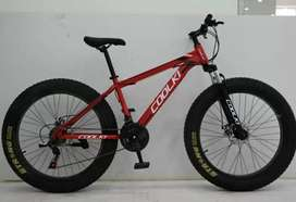 DIZRECYCLE ((new fat tyer. Cycle. With. 21 SHIMANO GEARS.  ))