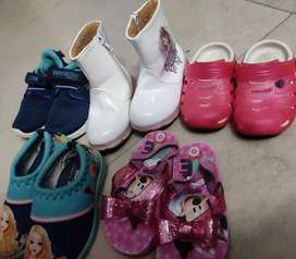 Girls shoes n slippers