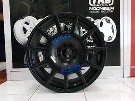 free A7103 HSR R17X75 H8X100-114,3 ET45 BLACK