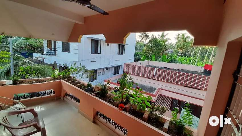 1 bhk with furniture's for rent near MG college,without parking 0