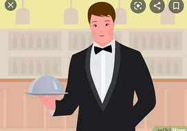 Need waiters for nonveg restaurant