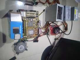 Jual motherboard / mobo asus  dengan prosesor , ram , vga