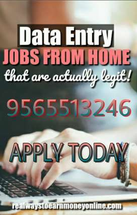 Data entry jobs with typing skills home based great job opportunity