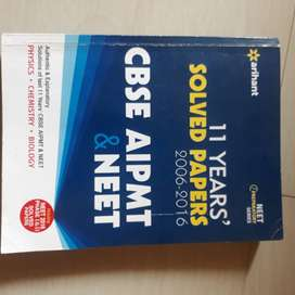 11 years solved papers (2006-2016)  CBSE AIPMT & NEET