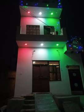 On road and corner house with full facilities