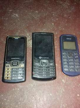 Bad conditions three basic  mobiles sell
