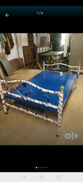 Bajaj EMI Available New Steel cot / Steel bed - Direct Factory sale