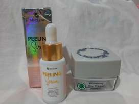 Ms glow peeling serum n day cream Original
