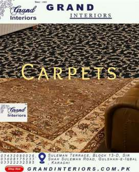Carpets,wall to wall by Grand interiors