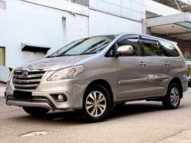 Toyota Kijang Innova 2.0 G AT 2015 Silver (Dp36jt) *autowhiz*