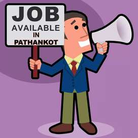 Jobs for both male and female in pathankot.
