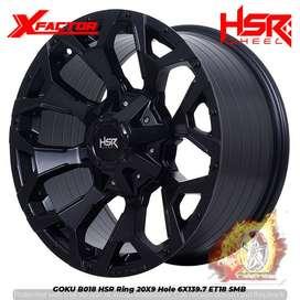 Velg Mobil Ring 20 HSR GOKU Buat Hilux Double, Land Cruiser, Prado dll